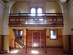 Inside the Benalla court house