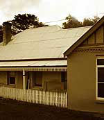The Euroa Inn where Ben Gould stayed whilst reconnoitering Euroa for the bank raid.